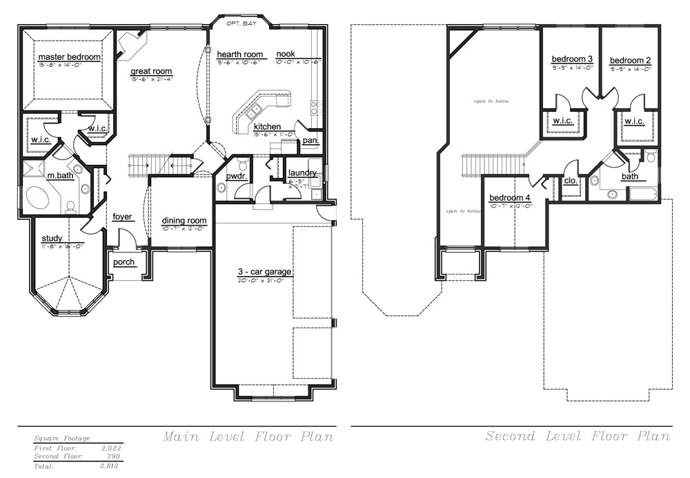 Abby 2 Model Floor Plan