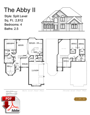 The Abby II Model Home Brochure