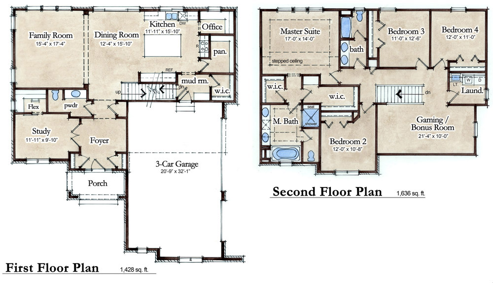 Barringhton Model Floor Plan
