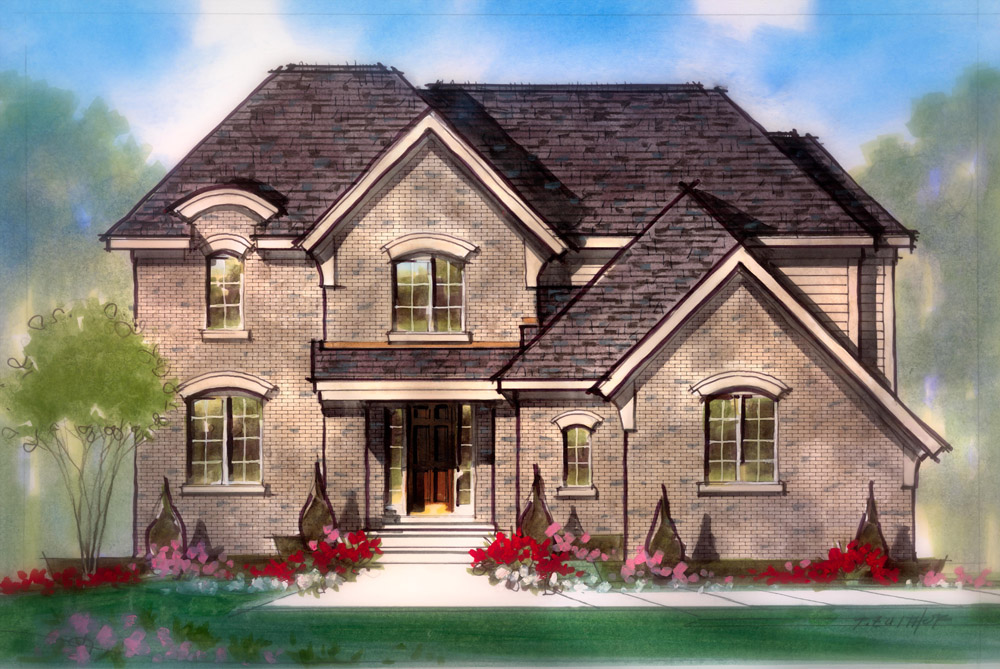 barrington model home