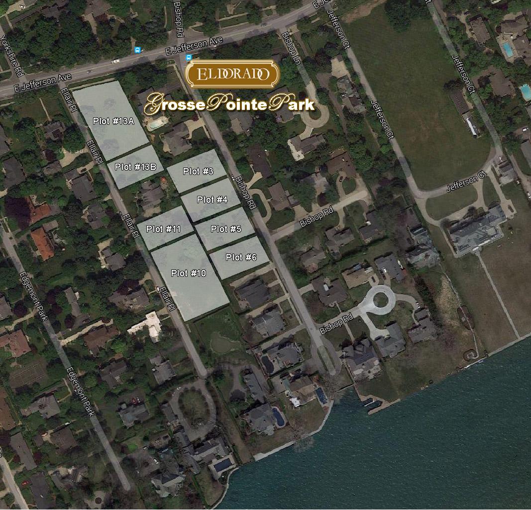 Grosse Pointe Park Subdivsion Site Plan