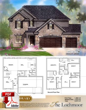 The Lochmoor Model Home Brochure