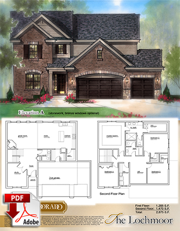 The Lochmoor Model Home Brochure