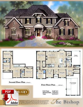 The Bishop Model Home Brochure